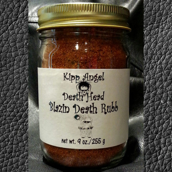 Death Head Blazin Death Rub